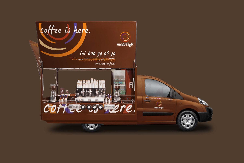Kawiarnia mobilna Maxi mobiCafé
