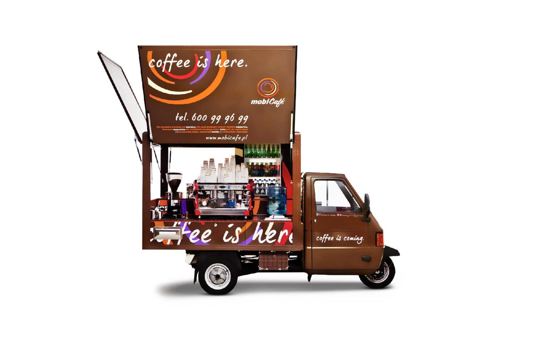 Kawiarnia mobilna Mini mobiCafé