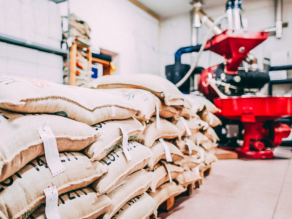 Worki kawy gotowe na event lub targi